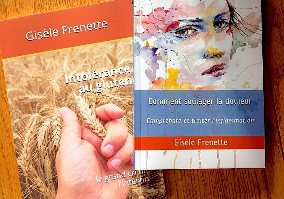 2 livres : endométriose et intolérance au gluten